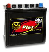 AKUMULATOR 12V 60AH ZAP 390A PLUS JAPAN L+ 230*170*226