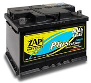 AKUMULATOR 12V 60AH ZAP 520 PLUS FORD L- 243X175X175