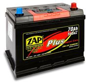 AKUMULATOR 12V 70AH ZAP 540A PLUS JAPAN L- 261*173*2202