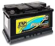 AKUMULATOR 12V 72AH ZAP 640A PLUS FORD L- 276X175X175
